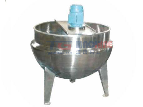 Jacketed cooking kettle