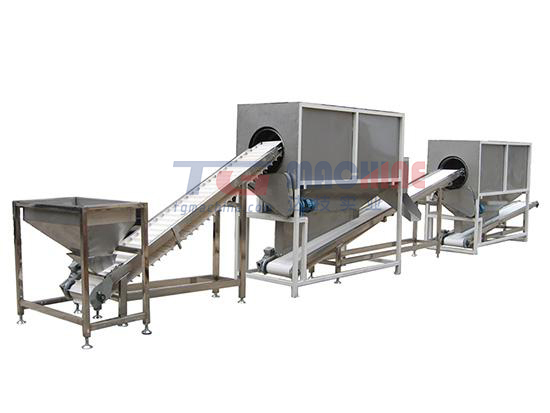 Starch molding machine